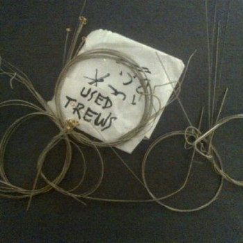 The Trews used guitar strings comfort doll project