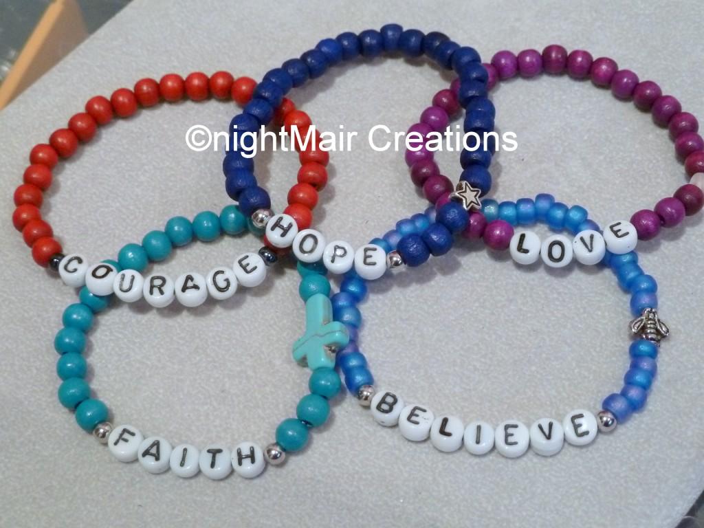 comfort doll project special order bracelets