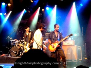 the trews seeds concert nightmair photography