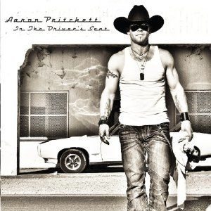aaronpritchett cd cover in the drivers seat