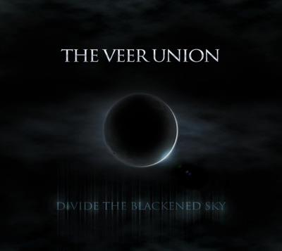 the veer union cd cover against the blackened sky