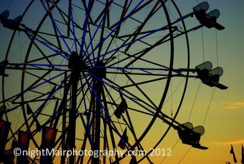 ferris wheel st albert rainmaker nightmair creative