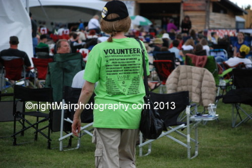 wild mountain music fest volunteer