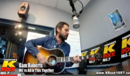 sam roberts we're all in this together