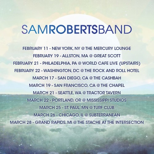 SRB usa dates
