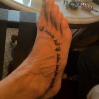 wes geer tattoo