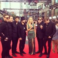 Sam Roberts Band MMVAs 2014 Red Carpet