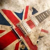 union jack guitar grunge