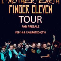 finger 11 i mother earth presale nightmair creative